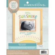 Dimensions Embroidery -Hello Sunshine