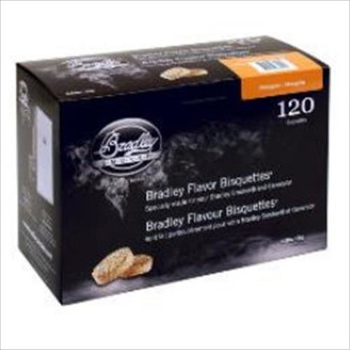 Bradley Technologies 680124 Mesquite Bisquettes - 120 Pack