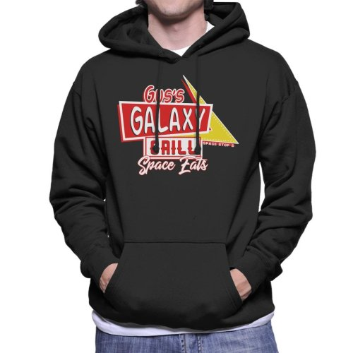 Gus Galaxy Grill Spaceballs Men's Hooded Sweatshirt