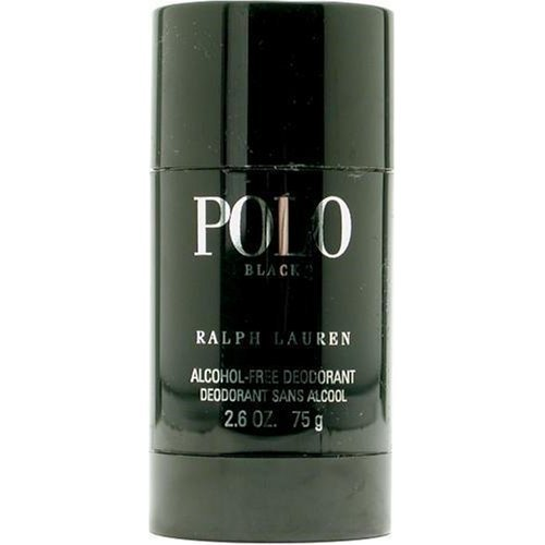 Polo Black by Ralph Lauren for Men, Alcohol-Free Deodorant, 2.6 oz / 75 g