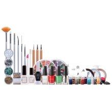 42pc Rio Ultimate Nail Art: Professional Nail Artist Collection   Nail Design Kit