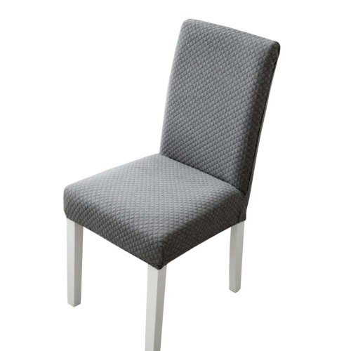 Knit Stretch Dining Room Chair Slipcover - The Chair is not Included - 06