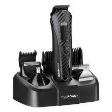 BaByliss For Men Pro Power Carbon Multi-Groomer 7426BU | Face & Body Groomer