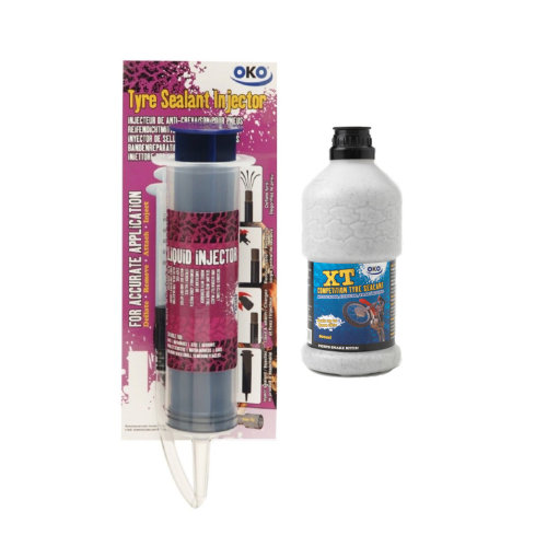 OKO XT 800ml Bottle Tyre Sealant & Injector