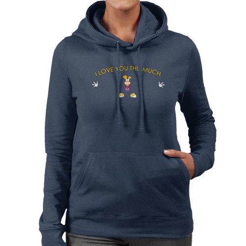 Rayman I Love You This Much Women's Hooded Sweatshirt