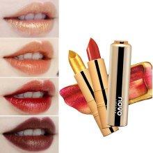 Novo Mermaid Shimmer Gold Lipstick