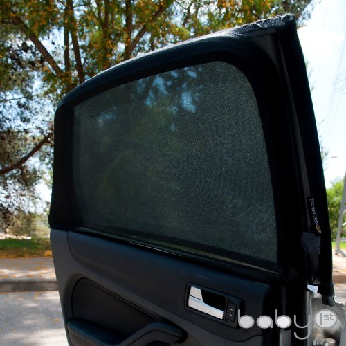 ATK Essential Products Baby 1st Car Sun Shades Cover for Rear Side