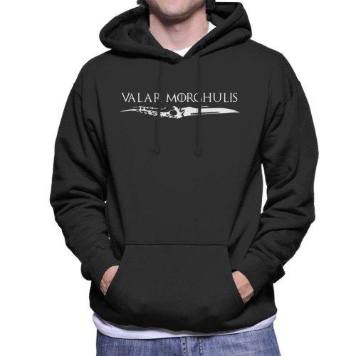 Game Of Thrones Valar Morghulis Dagger Men's Hooded Sweatshirt