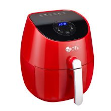 Dihl Red 3.2L Digital LED Air Fryer Rapid Healthy Frying Grill Low Fat Oil