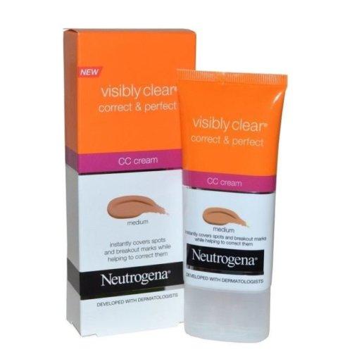 Neutrogena CC Cream Visibly Clear Correct & Protect Medium 50ml