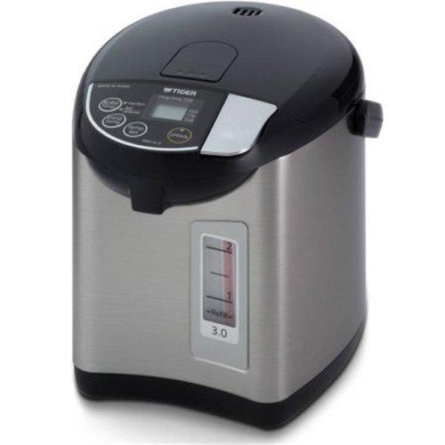 Tiger PDUA30UK 3 litre Electric Water Boiler & Warmer, Black