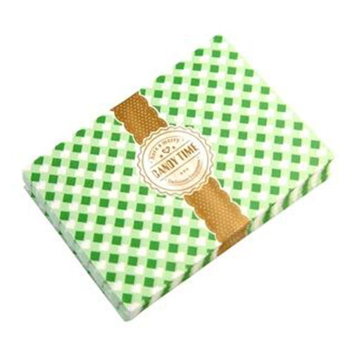 Beautiful Candy Wrappers Candy Greaseproof Paper Twisting Wax Papers, NO.38