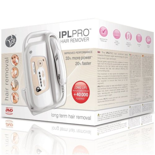 Rio Professional IPL Intense Pulsed Light Body and Facial Hair Removal System