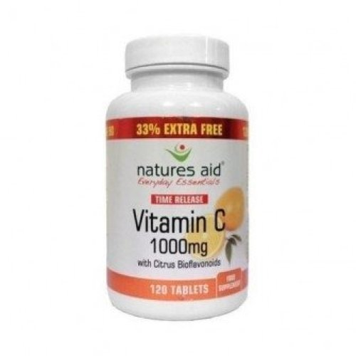Natures Aid - Vitamin C 1000mg Time Release 90 tablet