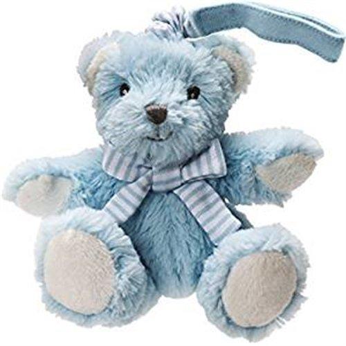 Blue Vibrating Bear Pull Toy