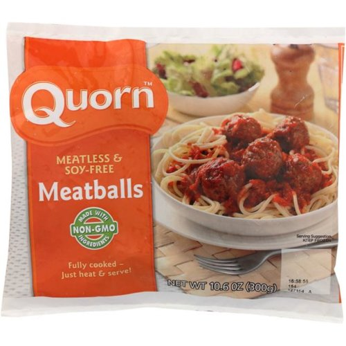 Quorn KHFM00766402 Meatless & Soy Free Meatballs - 10.6 oz