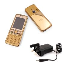 Nokia 6300 Gold Unlocked Camera Bluetooth Classic Mobile Phone