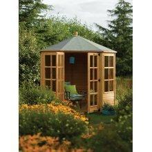 8x8 Ryton Octagonal Summerhouse