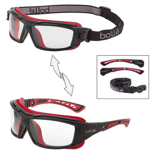 Bolle ULTIM8 ULTIPSI Safety Glasses Spectacles Goggles Clear Lens