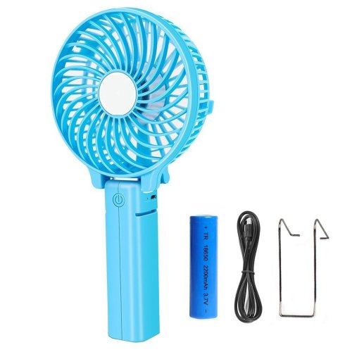 Anmete Portable Mini Handheld Fan Portable USB Rechargeable Foldable Cooling Fan Battery Operated Fan For Home Office Outdoor Travel Workout...