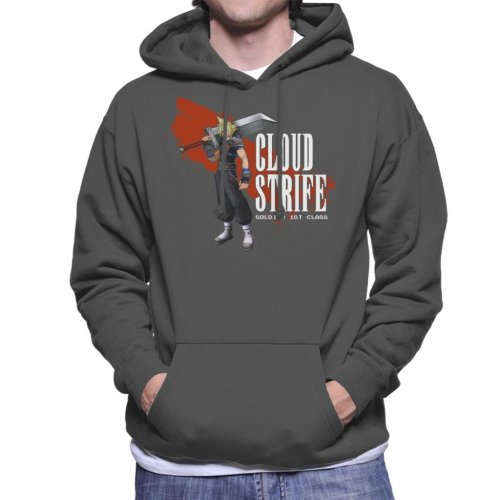 Cloud Strife Soldier First Class Final Fantasy VII Men's Hooded Sweatshirt
