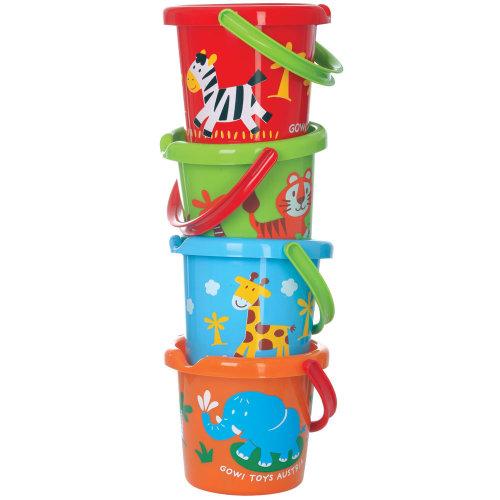 Gowi Toys Wild Animal Bucket