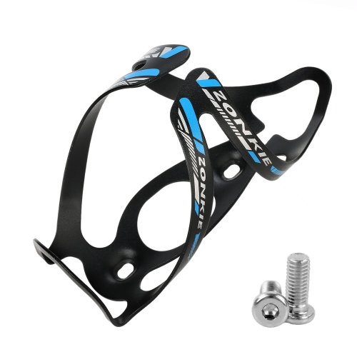 ZONKIE Road, Mountain Bicycle Water Bottle Cage, No Lost Bottles, Lightweight and Strong Bicycle Bottle Holder, Quick and Easy to Install, Great...