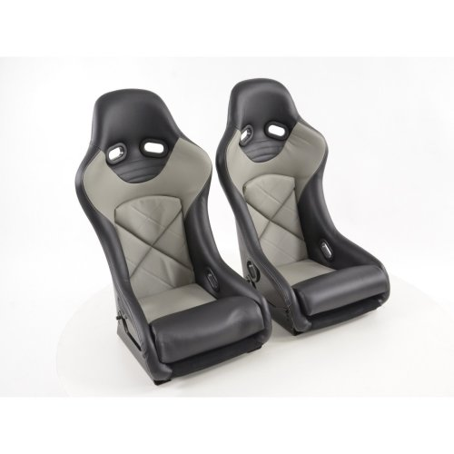 Sport Seats full bucket seat set with back shell made of fiberglass