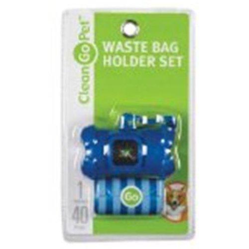 Clean Go Pet ZW4641 19 Bone Waste Bag Holder Blue