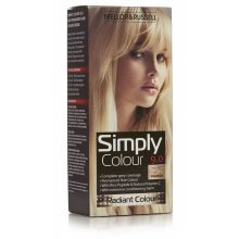 3 x Mellor & Russell Simply Colour Permanent Hair Colour 9.0 Natural Light Blonde