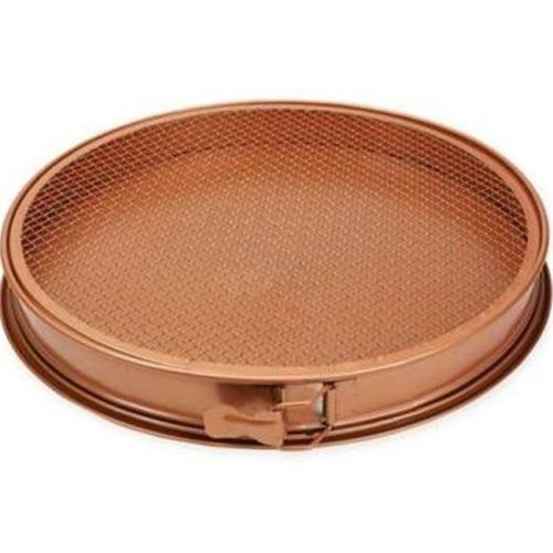 Tristar Products 234354 3 Piece Copper Chef Pizza Pan