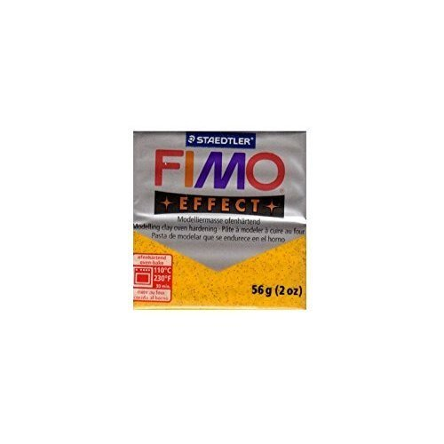Staedtler - Fimo effect 57g, Glitter Gold