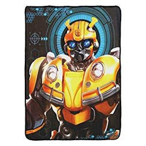 "Super Soft Throws - Transformers - Bee Alert  New 45x60"" Blanket"