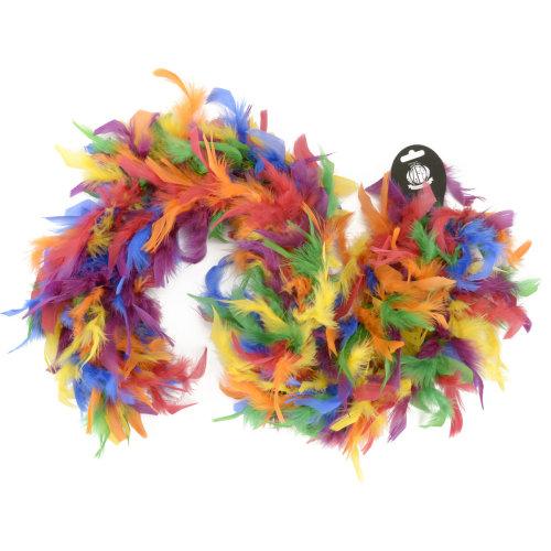 "Zucker Chandelle Feather Boa Mix 72""-Vibrant"