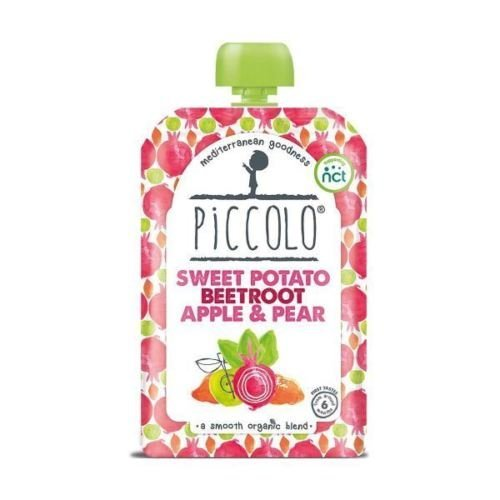 Piccolo Organic Sweet Potato Beetroot Apple & Pear | 100g x 5