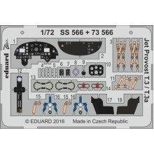 Edpss566 - Eduard Photoetch 1:72 Zoom Jet Provost T3/t3a (airfix)