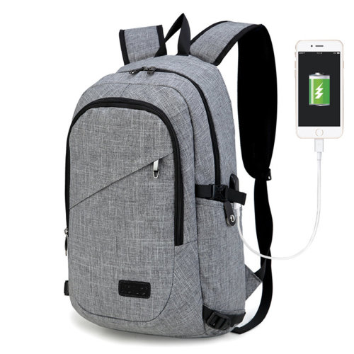 "KONO Business Laptop Backpack with USB Charging Port 15.6"" Notebook College Travel School Bag"