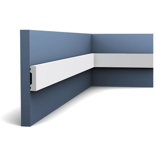 Orac Decor DX162F AXXENT SQUARE Door frame flexible moulding skirting 2 m