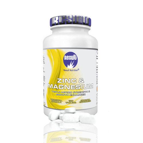 ZMA - Zinc and Magnesium - Train Hard - Sleep Well - Result Nutrition®