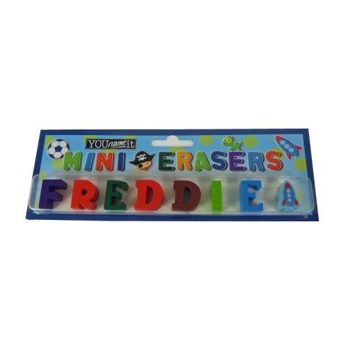 Childrens Mini Erasers - Freddie