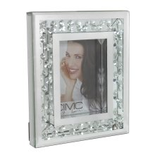 Diamonds of Mayfair 5in x 7in Mirror Photo Frame
