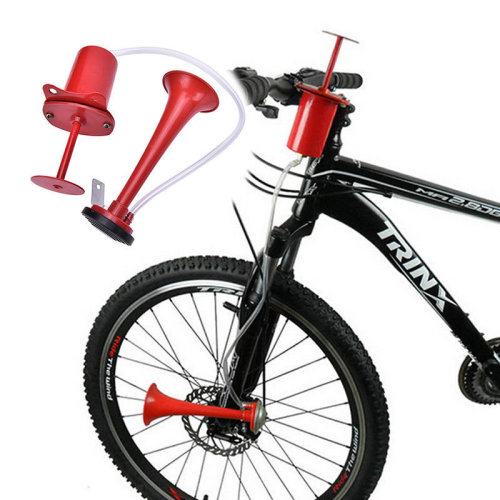 Mountain Bicycle Bike Cycling Hand Pump Air Horn Bell Rubber Squeeze