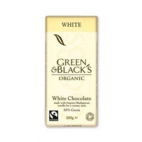 Green & Blacks - Organic White Chocolate 100g