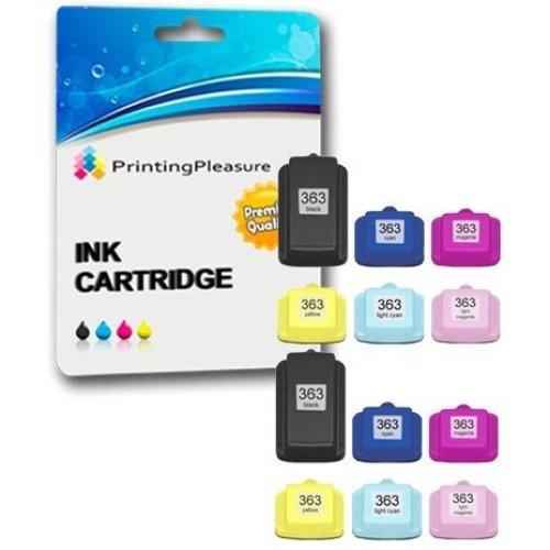 Printing Pleasure 12 XL (2 SETS) Compatible Printer Ink Cartridges for HP  Photosmart C5100 C5140 C5150 C5160 C5170 C5175 C5180 C5185 C5190 C6150