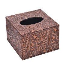 Continental Fashion Practical Wooden Storage Tissue Box