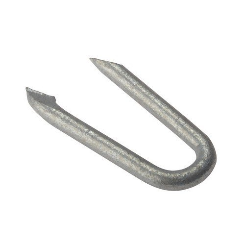 Forge 500NLNS25GB Netting Staple Galvanised 25mm Bag Weight 500g