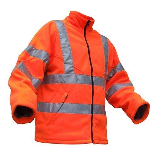 Click CARFORXXL Hi Vis Orange Carnoustie Fleece Jacket XXL
