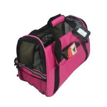 Pet Carrier Soft Sided Travel Bag for Small dogs & cats- Airline Approved, Pink #4