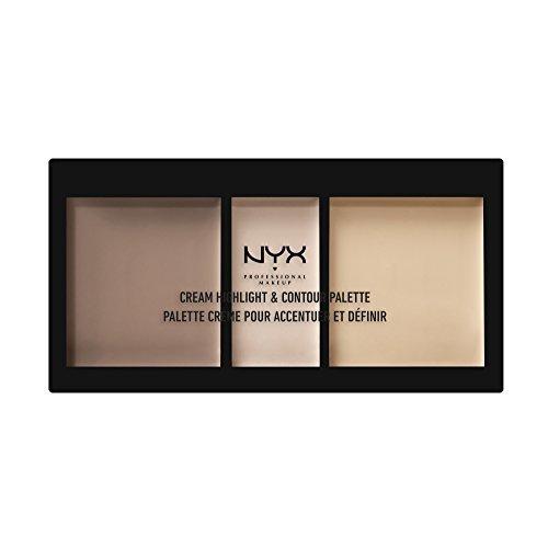 NYX Cosmetics Cream Highlight & Contour Palette Light