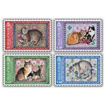 Ivory Manx Cats Set (CTO)